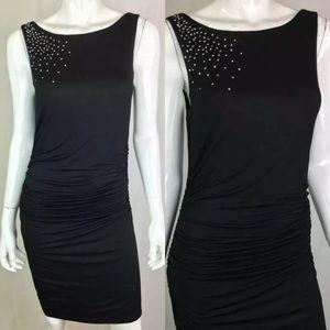 Velvet by Graham & Spencer Studded Ruched Dress